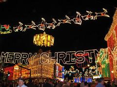 Osborne Lights (disneylori) Tags: christmas disney christmaslights disneyworld christmasdecorations wdw waltdisneyworld mgm canonpowershota610 osbornelights streetsofamerica hollywoodstudios
