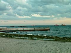 Helsingborg beach (krewetka) Tags: sea water sweden helsingborg krewetka scandinavia2008