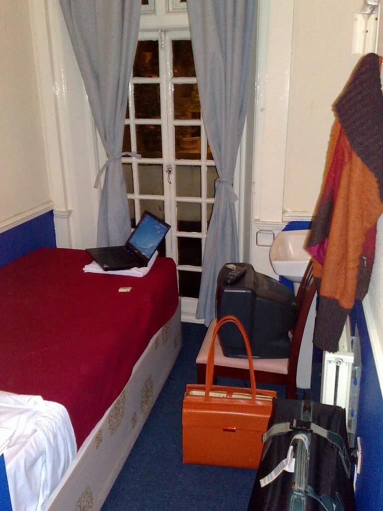 Mein Zimmer im Elizabeth House Hotel, London