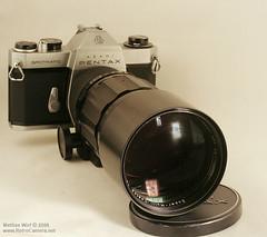 Pentax Spotmatic with S-M-C- Takumar 300mm/4