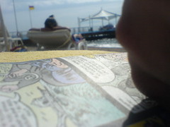 Relax Time (carteisus) Tags: sea sun holiday beach turkey comics relax sand türkiye resort deniz bodrum beachclub güneş tatil havuz plaj muğla latanya yalıçiftlik