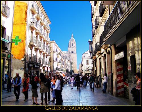 Calles de Salamanca Foto