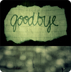 goodbye. (Kristine May.) Tags: texture paper diptych bokeh explore tired goodbye sleepdeprived schoooool myheadhurts iloveyouboy uglyhandwriting happyalmostthreemonthsofhappiness