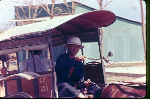 Taxi anyone - Bien Hoa - 1967 by 7th Surgical Hospital (MA)  Vietnam