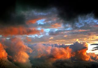 post tornado clouds