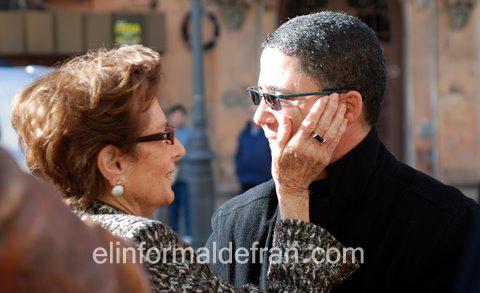 Enriqueta Nieto y Mustafa Arruf