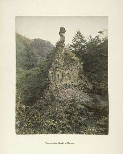 Tsudzura-Iwa, (Rock) at Haruna