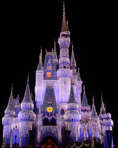 walt disney world castle logo. Walt Disney World Christmas