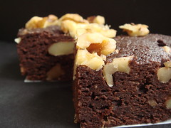 Vegan Walnut Brownie