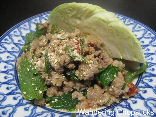 Larb (Lao Thai Ground Meat Salad) 1