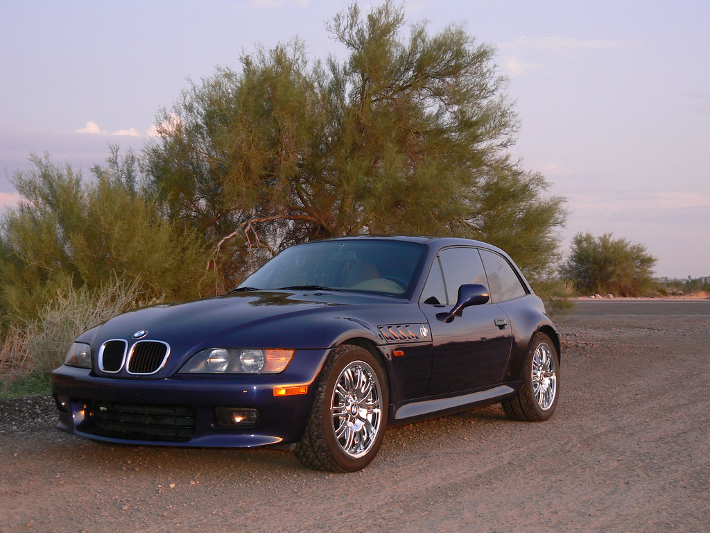 1999 Z3 Coupe Montreal Blue Beige Coupe Cartelcoupe