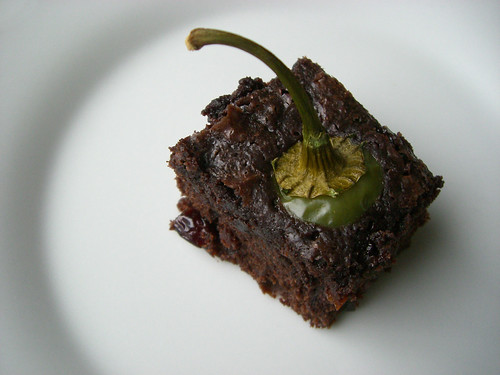 Jalapeño Habanero Brownies