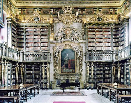 Biblioteca Geral University of Coimbra, Coimbra, Portugal