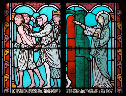 009- Vitral nº 9 claustro de Notre Dame de Paris