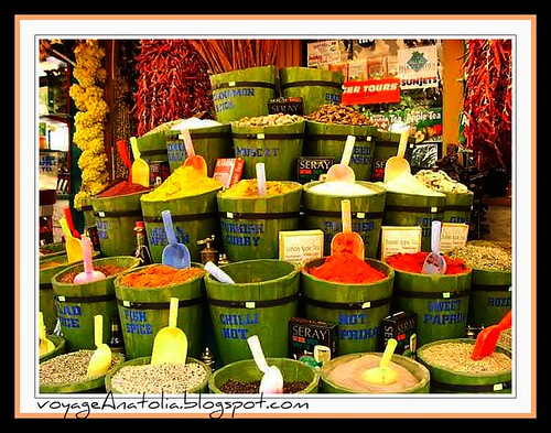 Spice Shop at Fethiye by voyageAnatolia.blogspot.com