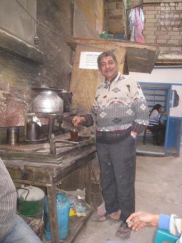 Tea guy in Islamic Cairo