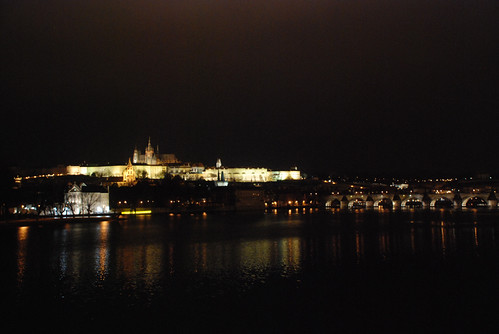 Castle and Charles Bridge