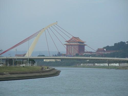 大直橋與圓山飯店