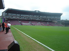 On my walk round the Highbury pitch before the match, never got bored strolling around this hallowed turf (old man chillum....) Tags: walk wing match pitch highbury turf afc hallowed prematch clockend