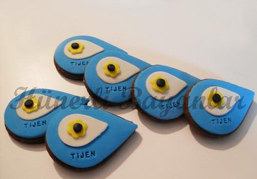 Kişiye özel nazar boncuğu kurabiyeleri