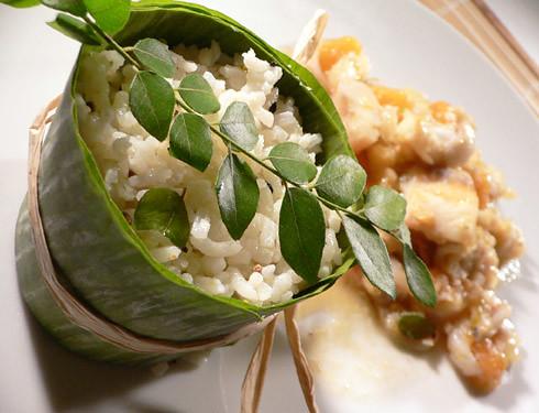 Fischcurry mit Lychees & Melone