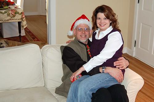 Santa Craig and me.