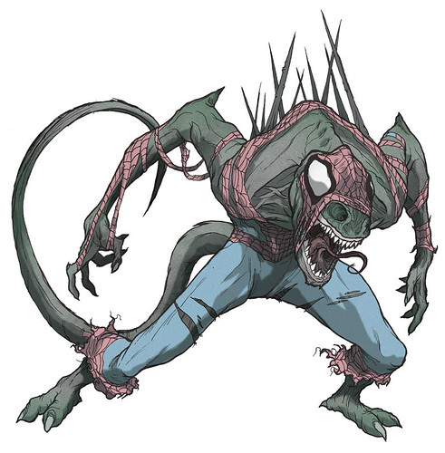 spiderlizardflat