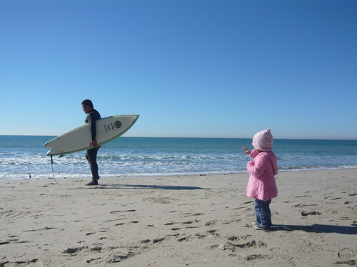 Bye Dada. Have fun surfing.