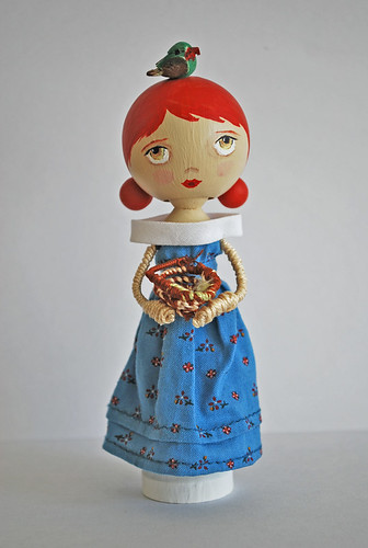 Lucy peg doll