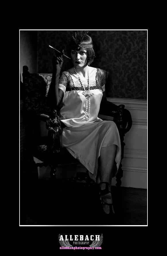 1920s women smoking tattoos