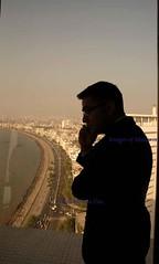 Mumbai skyline from Reopend Trident Hotel after the terror attack (E R) Tags: india skyline bombay maharashtra mumbai slum urbandevelopment marinedrive seaface arabiansea mumbaiskyline mumbaicity mumbaislum mumbaicityscape mumbaihighrise