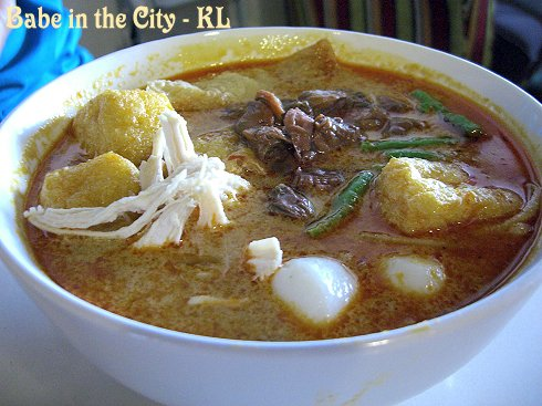 Curry Mee Add Clam (RM5.50)