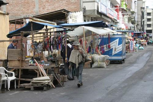 Ipiales market street...