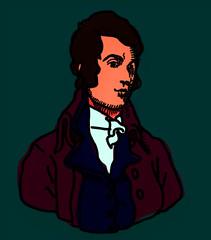 Burns study: 1 (giveawayboy) Tags: art scotland alba drawing january burns poet ft robertburns bard burnsnight thebard rabbieburns lineform lyricist january25th scotlandsfavouriteson theploughmanpoet bardofayrshire