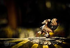 .Emblem. (.krish.Tipirneni.) Tags: india bird canon emblem 50mm gold swan symbol bokeh ap dome hyderabad hpc xsi shilparamam 450d rktobjects