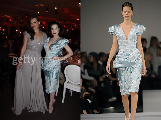 Dita Von Teese in Elie Saab Couture by unicorn.humper