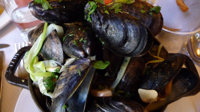 Moules Frites at Balthazar
