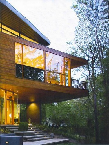 The Hoke House, Cullen Family Modern House at Twilight Movie