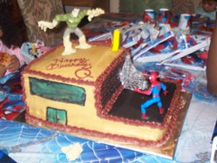 spider man cake (cakes by cheli) Tags: birthday cake spiderman
