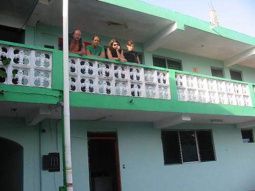 Net uitgecheckt in Chetumal