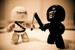 nemesis (darktiger) Tags: canon gijoe toys cobra 80s actionfigures cartoons snakeeyes muggs stormshadow 35l mightymuggs