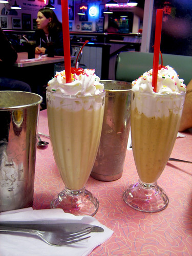 Elvis Shake and Coffee Shake