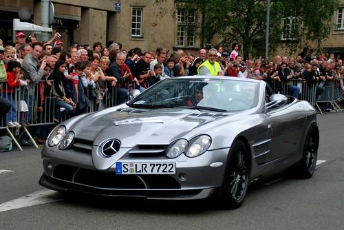 Mercedes-Mclaren SLR Roadster 722