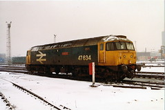 47634 henry ford at stratford (47604) Tags: sf snow london diesel brush depot stratford sulzer mpd tmd henryford 30a class47 47158 47634