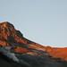 Volcán Chillán Viejo atardeciendo.