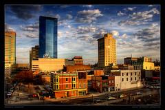 Good Morning Lexington (mlindqvist) Tags: nikon downtown lexington kentucky ky magnus hdr vr lindqvist 18200mm 3xp photomatix d80 mlindqvist ourkentucky