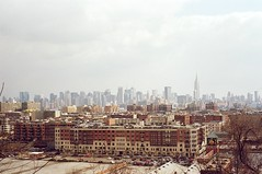 Hoboken and NYC from JerseyCity Heights (Nesster) Tags: nyc 50mm newjersey jerseycity takumar f14 nj fujica hoboken 5014 hudsoncounty dt605