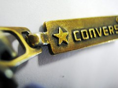 Converse (Kyaw Photography) Tags: macro star converse zipper allstar