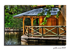 Embarcadero del parque del Capricho (Pablo Arias) Tags: madrid naturaleza nikond50 hdr parquedelcapricho