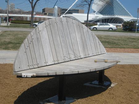 xylophone bench